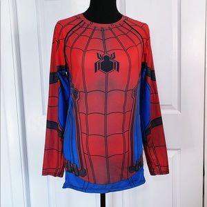 Cody Lyndon Spiderman athletic top